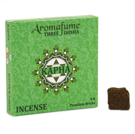 Aromafume Incense Bricks   Kapha Dosha   9 brick pack