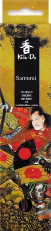 Japanese Incense   Koh-Do   Samurai (Spicy Sandalwood)   20 stick box   Low Smoke