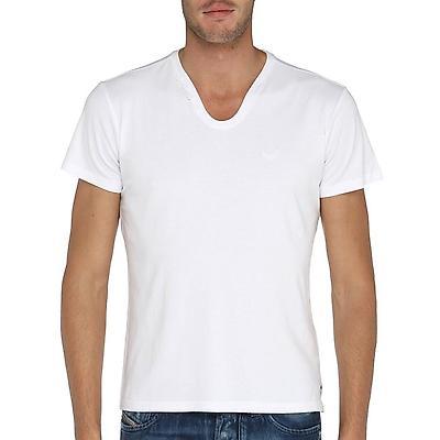 Tshirt blanc à col rond