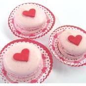 Macarons St Valentin