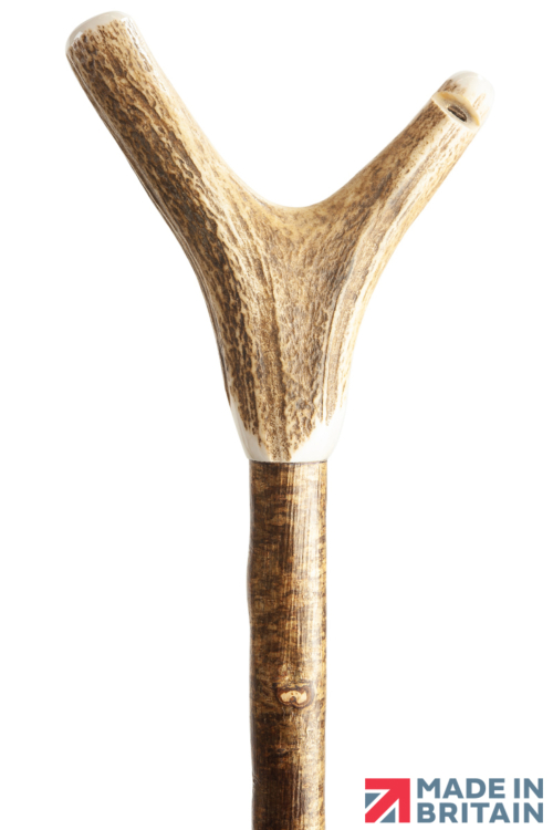 Staghorn Thumbstick with Whistle