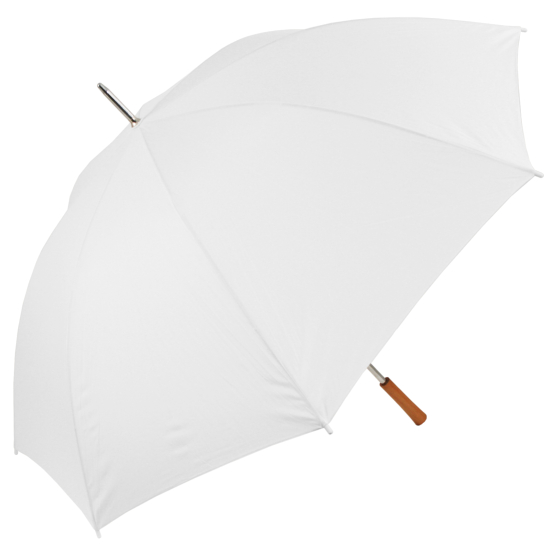 Chauffeur - Large Wedding Umbrella - White