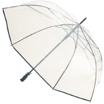 Susino Clear POE See-Through Golf Umbrella